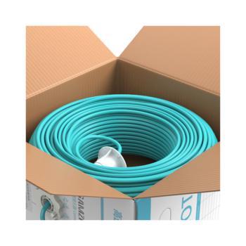 山泽(SAMZHE)工程级超五类无氧铜非屏蔽UTP网络数据电缆 SZ-H5100 浅绿 100米/箱