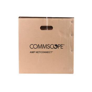 康普(AMP安普)六类非屏蔽电缆(CM) 24AWG 1427071-6 305米每箱