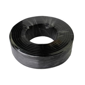 天诚 RVV4*0.75 四芯软电线 黑色 200米/卷