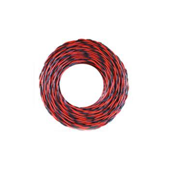 众城 RVS2×1.5 100m红黑两芯双绞软电线