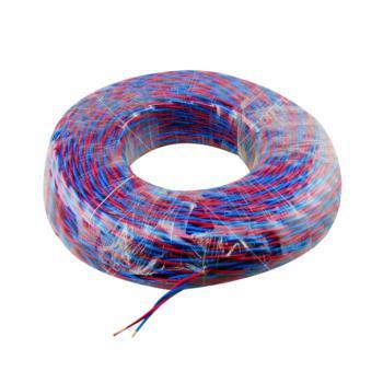 众城 RVS2×1.5 100m红蓝两芯双绞软电线