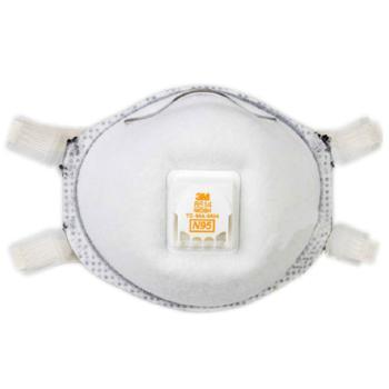 3M 8514 N95 焊接防尘口罩(防臭氧) 10个一盒 金属烟防毒口罩