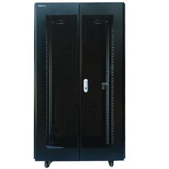 图腾(TOTEN) K3系列 服务器机柜 前后网孔门 后门双开 22U K36622
