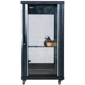 图腾(TOTEN) GS系列 网络机柜 前钢化玻璃门 后网孔门  27U GS6027