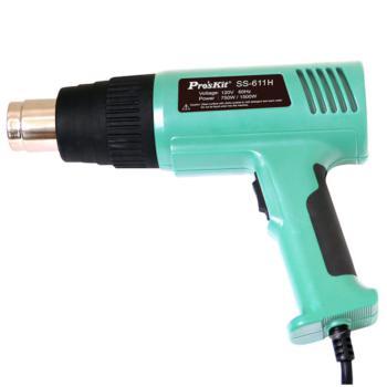 宝工(ProsKit)温度保护型热风枪 1500W两档可调 SS-611H