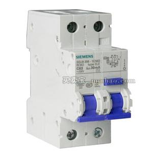 西门子 微断漏电保护;5SU9356-1KN06(AC 30MA 1P+N C6 (带过压保护))