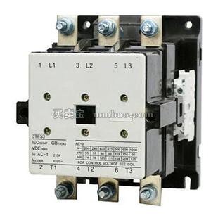 西门子 交流接触器;3TF5222-1XF4 110V 170A