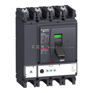 施耐德 塑壳断路器;NSX400N MIC2.3 400A 3P3D (3P) 电操 AC220V 固定式前接线