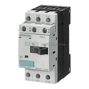 西门子 电动机保护断路器;3RV1011-0AA10