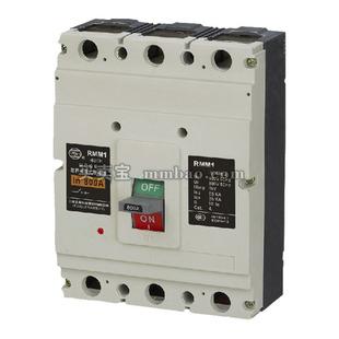 上海人民 塑壳配电保护;RMM1-800SP/3320 800A AC220V CD型电操 插入式板后垂直接线
