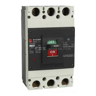 常熟开关 塑壳配电保护;CM3-400L/3328 400A 抽出式板前