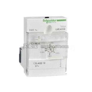 施耐德 TeSys U 电机起动控制器;LUCA05BL 控制单元 1.25-5A 24VDC