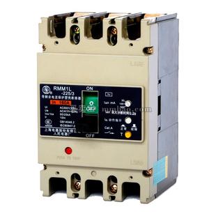 上海人民 塑壳漏电保护;RMM1L-100P/4300B 100A AC220V 延时 板前