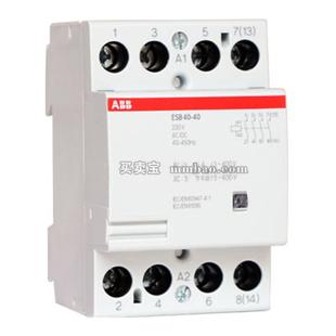 ABB 特殊接触器;ESB40-40 240VAC/DC