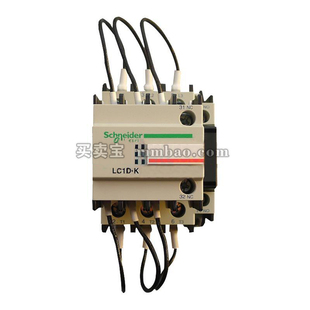 施耐德 TeSys D 电容接触器;LC1-DPK12M5C 220VAC