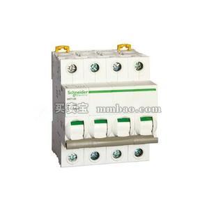 施耐德 Acti 9 微型隔离开关;IINT125 40A 3P(新)