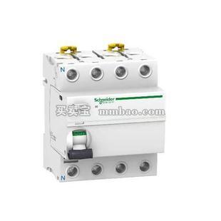 施耐德 Acti 9 漏电保护;IID 4P 40A 30MA AC