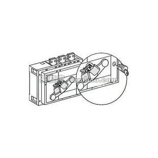 施耐德 开关附件;INS630B-2500黑色延长旋转手柄