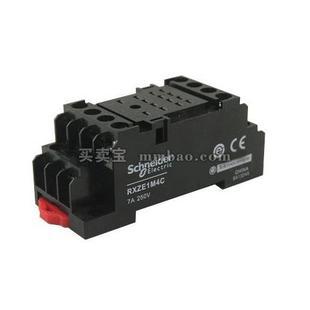 施耐德 Zelio Relay 可插拔式中间继电器底座(经济型);RXZE1M4C